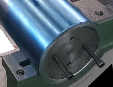 06.芯出しバーによる当たり付