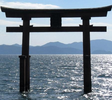 05.白鬚神社の鳥居
