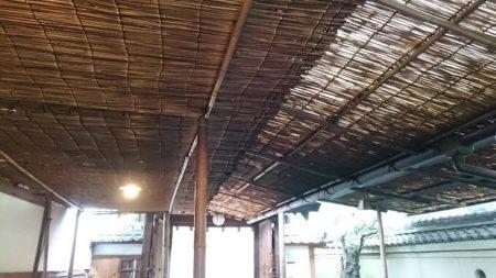 03.よしずの屋根