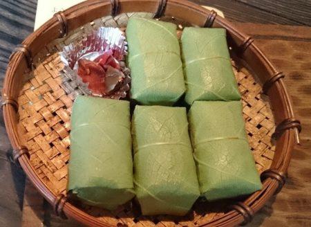 12.柿の葉寿司