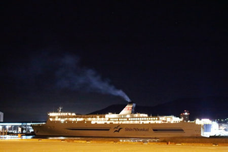 01.小樽港へ到着