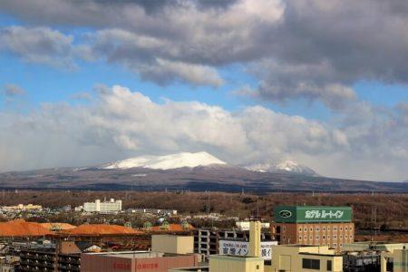 01.苫小牧から見える山
