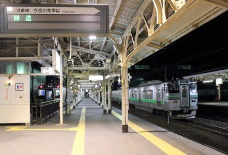 14.小樽駅3番線
