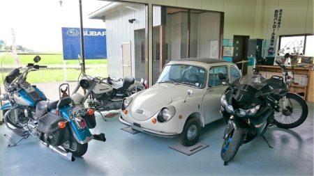 03.「Cafe.K」のバイクや車の写真