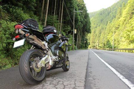04.洞川へ続く山間道の写真
