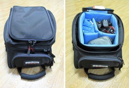 08.GOLDWINのシートバッグに装着した例の写真
