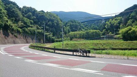 09.水越峠へのヒルクライムの写真
