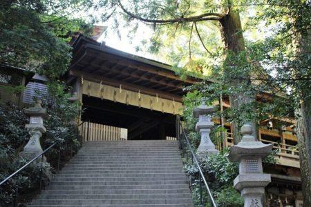 01.拝殿へと続く階段の写真