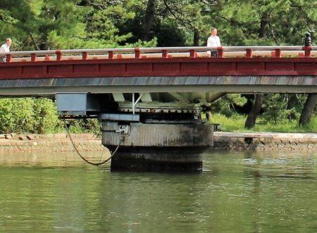 18.廻旋橋(橋げた)の写真