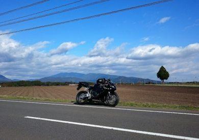 03.のどかな九州の道の写真
