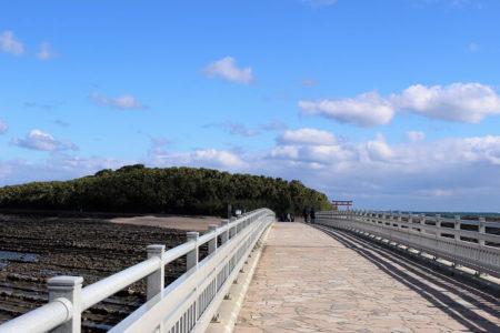 05.青島へ続く橋の写真