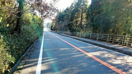 07.九州ツー最後の絶好な快走路の写真