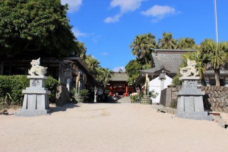 07.青島神社入り口の写真