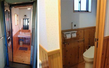 24.ブルトレたらぎのトイレの写真