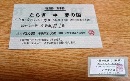 27.宿泊券の写真