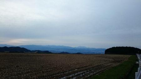 06.山麓線の景色の良い所の写真