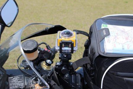 08.バイクに取り付け例の写真2
