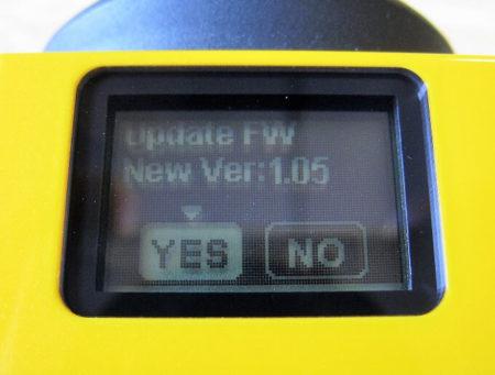 14.yes・no選択画面の写真