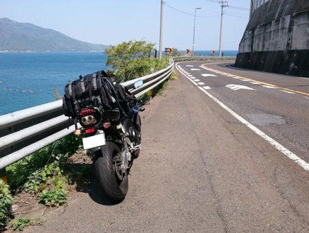 14.敦賀を抜けた海岸沿いの道の写真2