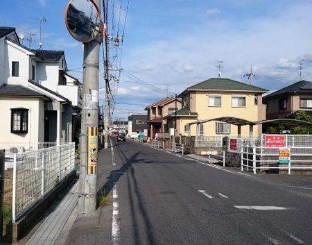 01.住宅街の写真