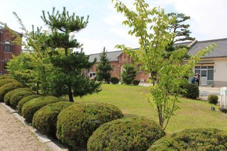 08.刑務所内の日本庭園の写真