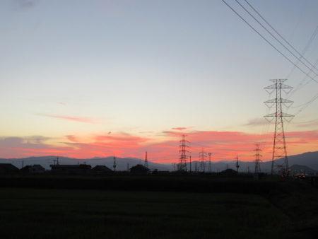 02.夜明けの写真