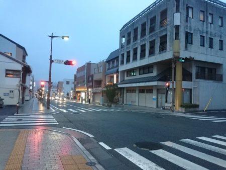 15.富士宮で降っている雨の写真