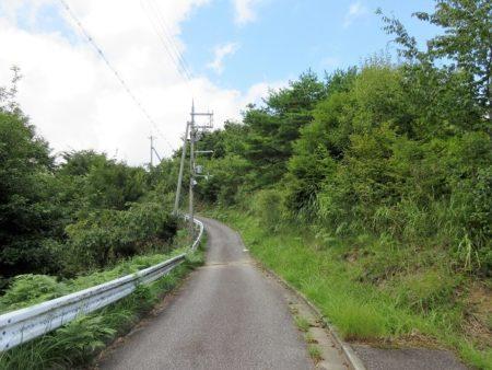 03.展望台へと続く道の写真