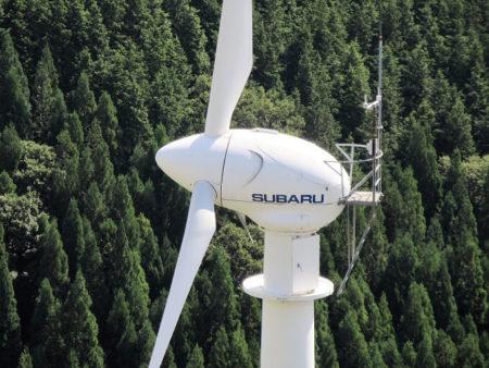 05.スバル製風車のドアップ写真
