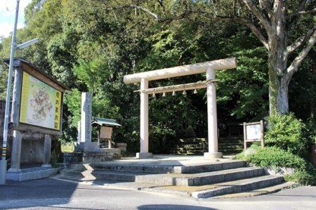 01.笛吹神社鳥居の写真
