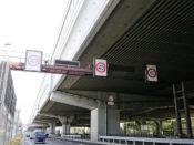 06.国道43号線(40キロ規制標識)の写真