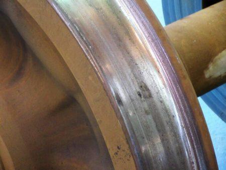 06.削正前の車輪の写真