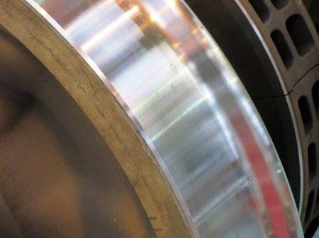 07.削正後の車輪の写真