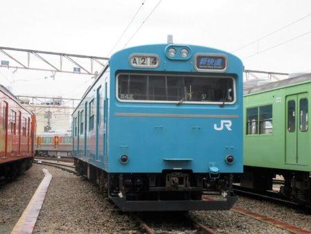 22.阪和線 103系の写真