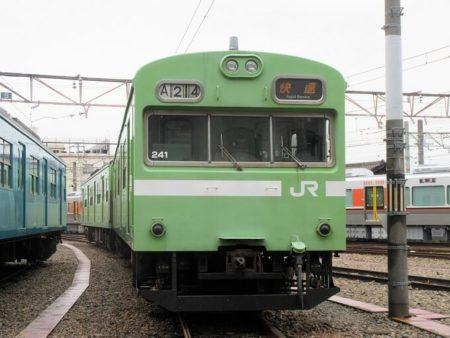 23.関西線103系の写真
