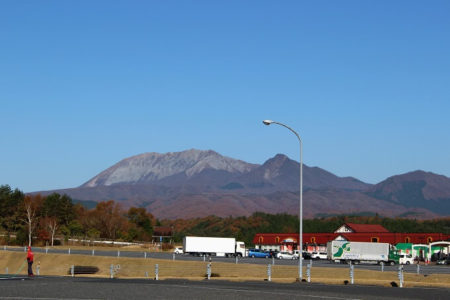 07.蒜山高原SAからの大山の写真