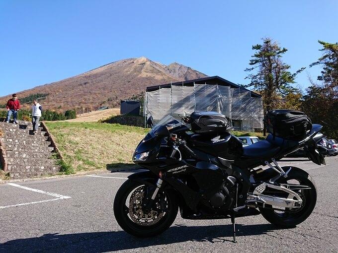 17.伯耆富士の『大山』とCBRの写真