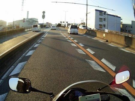 03.大阪南港への道の写真