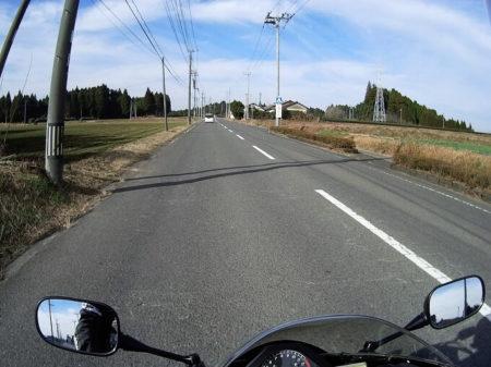 07.県道63号線(農村地帯)の写真