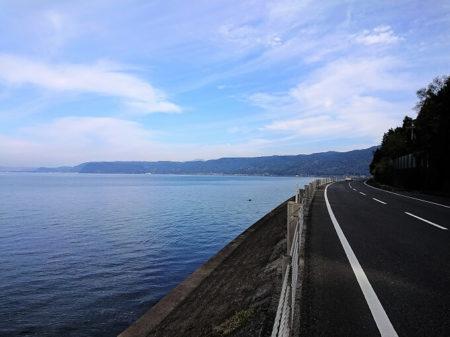 11.錦江湾の綺麗な海の写真