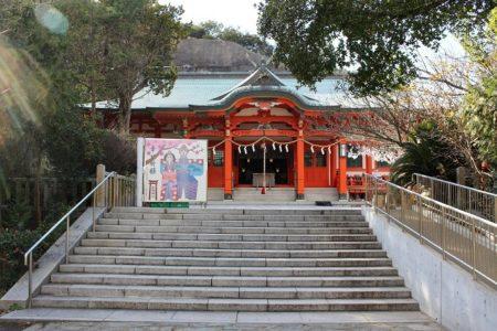 17.加太 淡島神社拝殿の写真