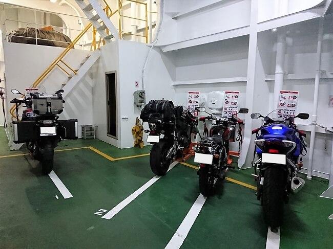 06.本日の乗船バイクの写真(2)