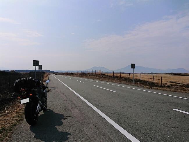16.遠くに見える阿蘇山の写真