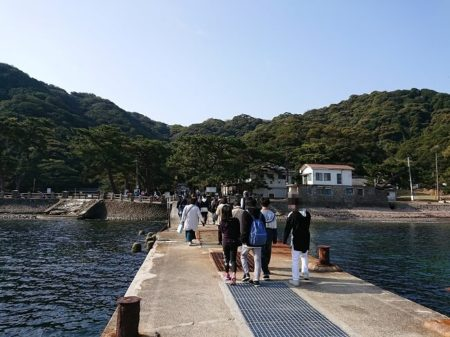 10.野奈浦桟橋の写真