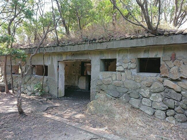 28.旧日本軍聴音所跡地の写真
