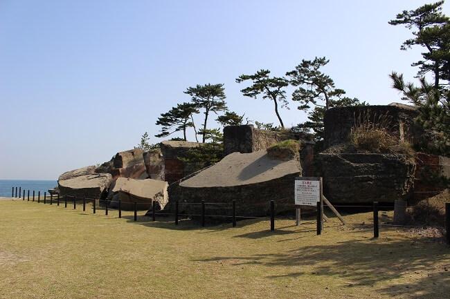 35.第二砲台跡の写真