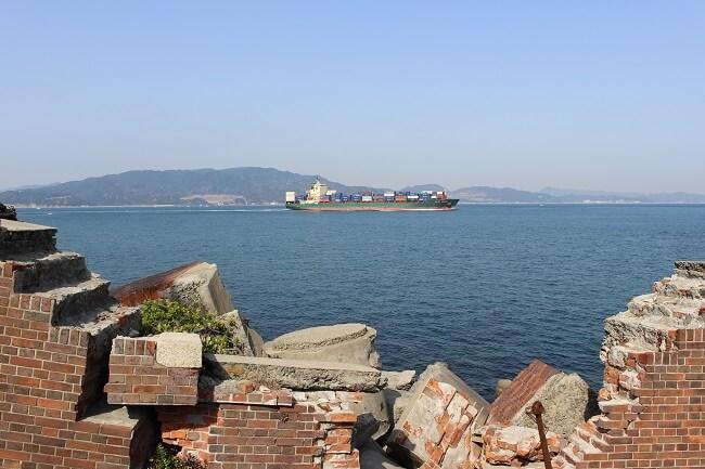 36.第二砲台跡の写真(3)
