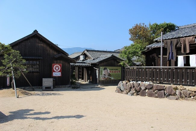 01.映画村内(漁師の家付近)の写真