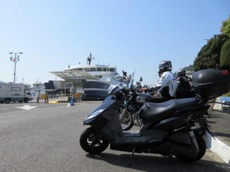 05.日生港に到着した時の写真