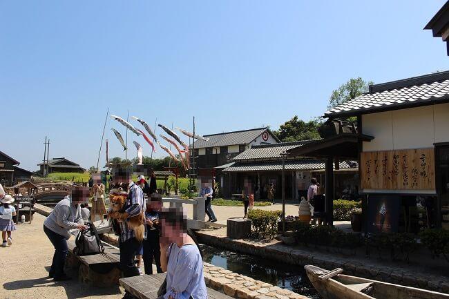 07.映画村入って直ぐの所の写真(2)